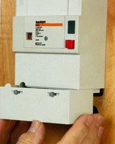 électricité anomalies appareil commande et protection