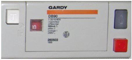 Diagnostic électrique protection differentielle