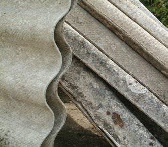 Amiante fibro ciment non friable