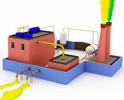 etude pollution industriel