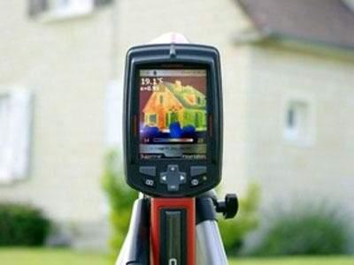 Thermographie infiltrometrie etancheite a l'air