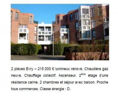 Exemple d annonce immobiliere etiquette dpe presse