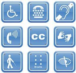 Diagnostic accessibilité handicapés