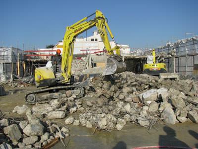 Diagnostic gestion des déchets démolition