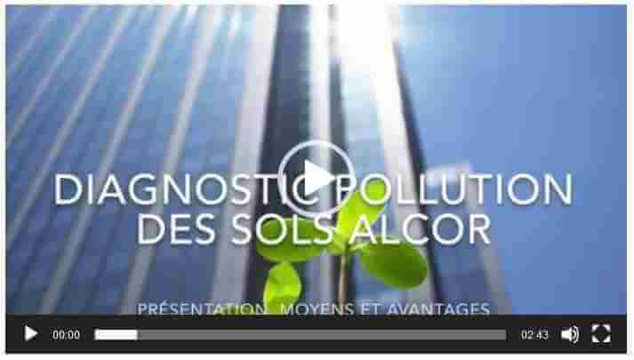 Vidéo diagnostic pollution sol