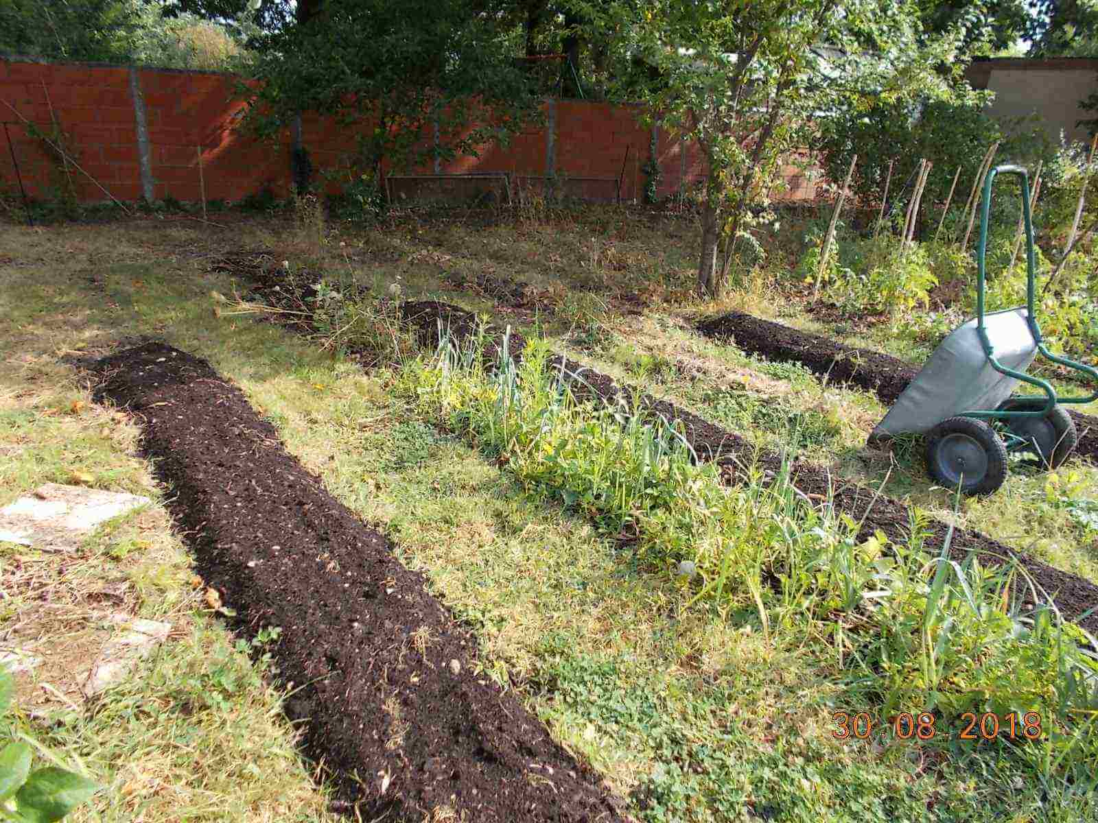 Analyse pollution jardin potager, arboretum permaculture