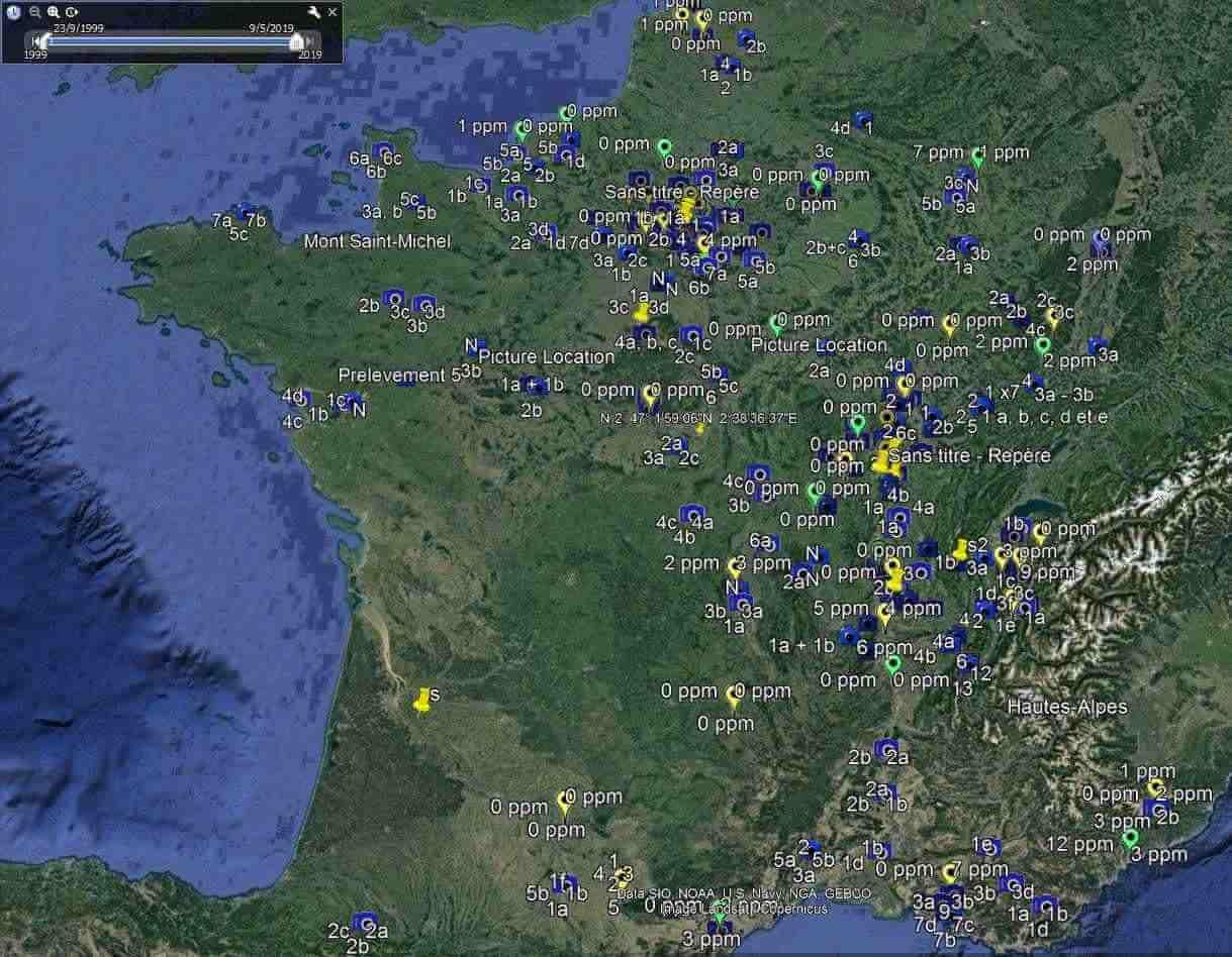 Diagnostics pollutions sols sur toute la France